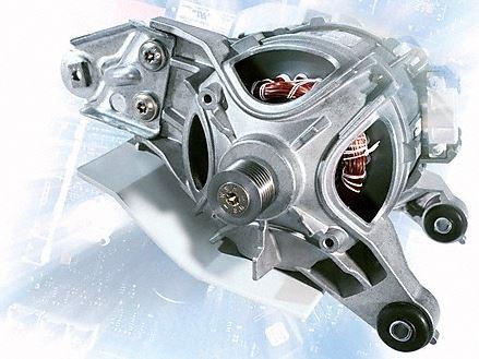 Hochentwickelter Asynchronmotor