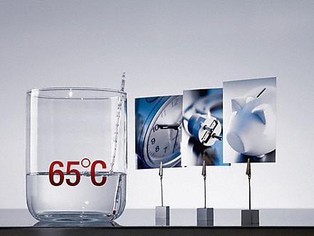 Warmwasseranschluss - Bis zu 50 % Strom sparen