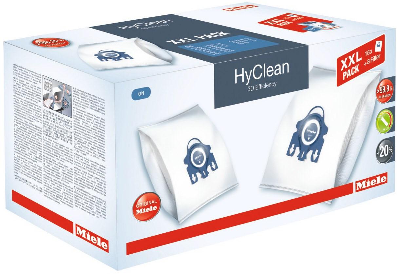 Miele Staubbeutel XXL-Pack Typ GN HyClean 3D Efficiency (16 Staubbeutel)