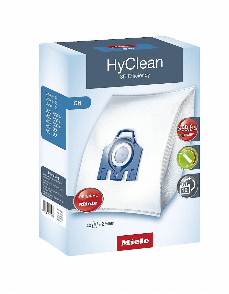 Miele Staubbeutel GN HyClean 3D Efficiency (4 Staubbeutel)